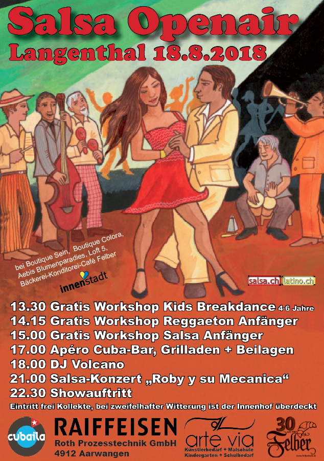Salsa Open Air 2018