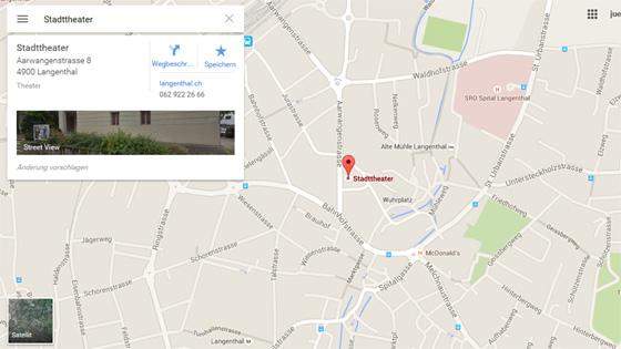 google streetview Langentahl