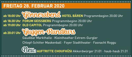 Fasnacht Langenthal 28.2.2020