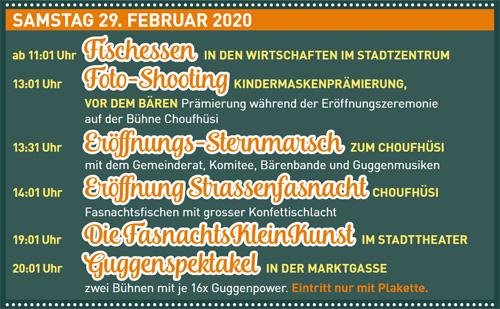 Fasnacht Langenthal 29.2.2020