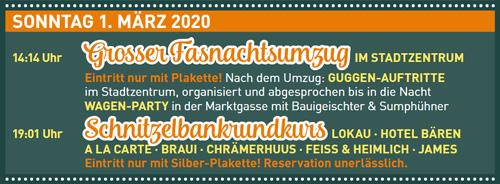 Fasnacht Langenthal 1.3.2020