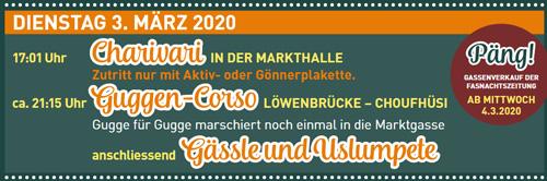 Fasnacht Langenthal 3.3.2020