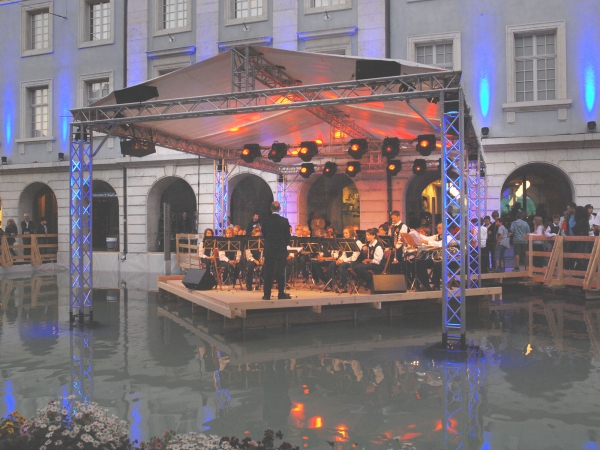 Konzert der Kadettenmusik Langenthal (Bild R. Grogg)