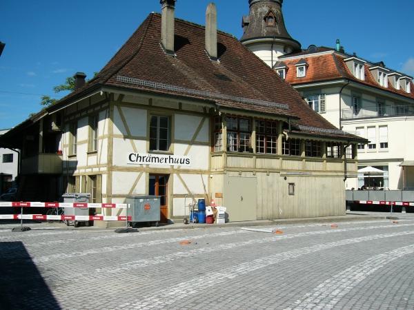 Chrämerhus schläft; Turm noch mit Terasse (13.8.2011)