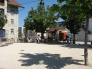 Pétanque-Platz und Bar