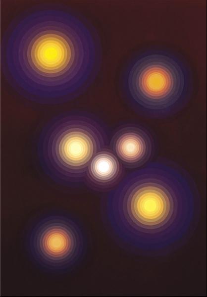 Lichter in der Nacht von der Site: JakobWeder.ch