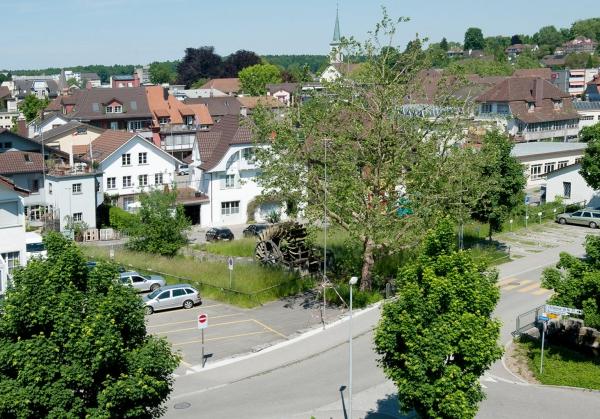 Wasserrad am Sagibach Quelle: Christen Foto Langenthal