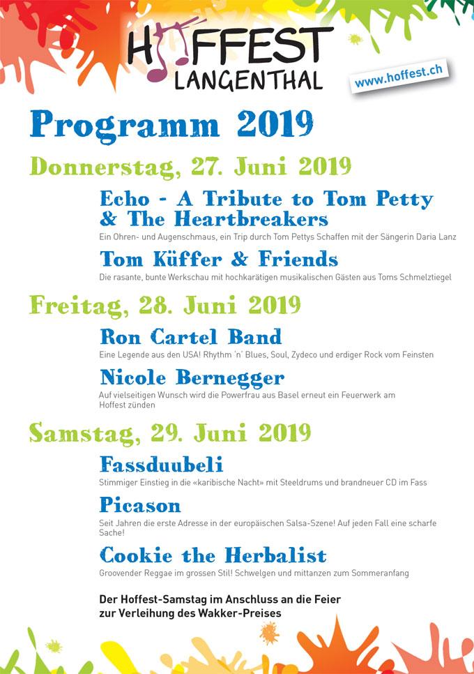 Hoffest 2019 in Langenthal
