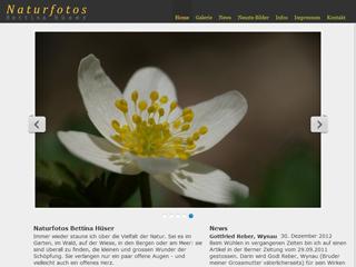 Site von Bettina Hüser